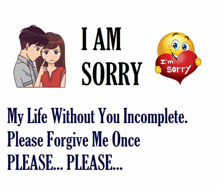 150+ Romantic Sorry Messages & Quotes For Girlfriend (or Wife)